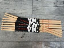 3 Paar Vic Firth 7A American Classic USA Hickory Drumsticks