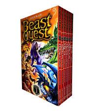 Beast Quest Series 1 - 6 Books Set (1 to 6) Brand New-Epos, Nanook, Tagus, Arcta
