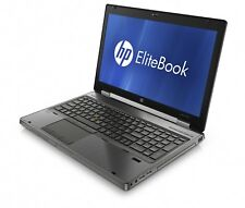 HP EliteBook 8560W Workstation i7-2820QM 2.3GHz 8GB 500GB DVDRW Windows 10 Pro