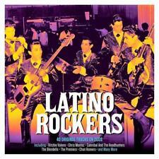 LATINO ROCKERS -  40 ORIGINAL TRACKS - VARIOUS ARTISTS (NEW SEALED 2CD Digipak)