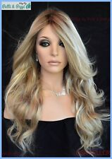 Down Time  Lace Front Hand Tied Monotop Wig Raquel Welch Golden Wheat SS1488