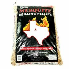 Texas Mesquite Smoker Grilling Pellets, 100% Wood, No Fillers (4 lbs or 20 lbs)