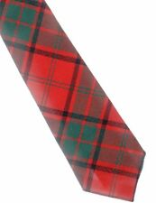 Tartan Tie Clan Maxwell Modern Scottish Wool Plaid