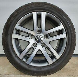 1 original VW Golf V 5 VI 6 Alufelge Atlanta 6,5x16 ET50 1K0601025BM 1K0601025AJ