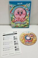 Kirby and the Rainbow Curse (Nintendo Wii U, 2015) MINT DISC EXCELLENT TESTED