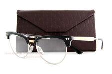 Brand New GUCCI Eyeglass Frames 4284 CSA Black Palladium For Women