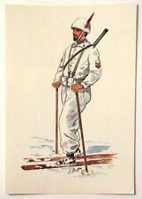 Cartolina Serie Uniformi Storiche 5° Reggimento Alpini - N.17 Sergente De