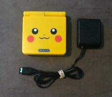 Pikachu Edition Pokemon Yellow Nintendo Game Boy Advance Sp GBA SP ~ Excellent!