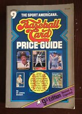 The Sport Americana Baseball Card Price Guide 1987 Number 9