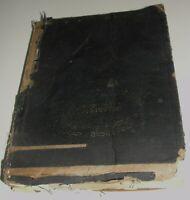 Ancient Theology Book Jews JUDAICA Jewish Hebrew Rabbi Torah Bible Tanakh Moses