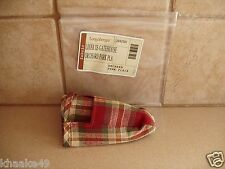 LONGABERGER ORCHARD PARK PLAID EXTRA SMALL GATEHOUSE LINER * NIP * FREE SHIPPING
