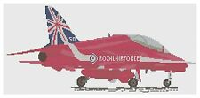 Red Arrows 50th Anniversary Cross Stitch Kit by Florashell