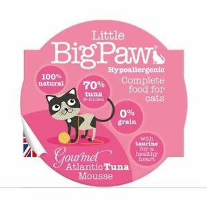 Little Big Paw Gourmet Cat Food Atlantic Tuna Mousse Hypoallergenic 0% Grain 85g