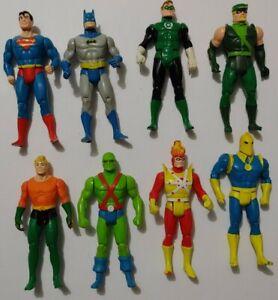DC Super Powers Kenner 1984-85 Lot Of 8 Figures Superman Batman Read Description
