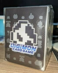 Digimon Card Game TCG Pixel Art Deck Box / Card Case Tamer's Evolution Box