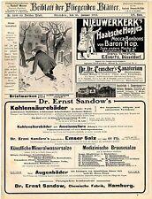 Baron Hop Mocca- Bonbons Gabriel Sedlmayr München Brauerei zum Spaten Dr...1907