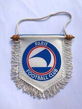 Paris FC fanion vintage foot football pennant wimpel banderin