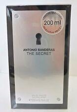 THE SECRET By Antonio Banderas 6.7 6.8 oz 200 ml Men Cologne EDT Spray NIB