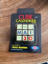 Ancien jeux Neuf Sous Blister Cube Calendrier Universel Année 80 Rubik's cube