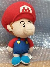 Japan Epoch SUPER MARIO Baby Mario Plush Toy 2007 Nintendo
