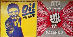 Job Lot 8 X Punk/Alternative/Rock Compilation Vinyl Albums NME, Oi!, etc.