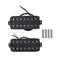 Alnico V 7 String Guitar Humbucker Neck Bridge Pickup Sets for ST Strat Guitar