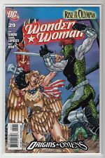 """Wonder Woman Issue #29 """"Rise of the Olympian""""  (DC Comics 2009)"""