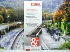 Piko 55202 - H0 - A-Gleis - 6 Stück gerades Gleis 119mm - Neu/OVP-#8555