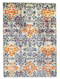 Super Area Rugs Bohemian Overdyed Vintage Traditional Distressed Rug in Multi