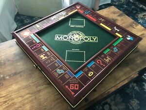 Stunning FRANKLIN MINT Collector's Edition MONOPOLY w/ Box 100% COMPLETE
