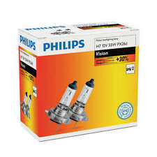 LAMPARAS Halogena Philips  H7, 12V  55W Vision +30%,2 unidades
