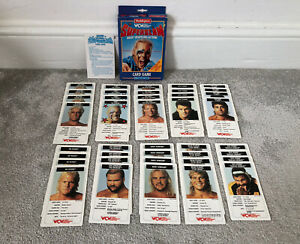 Vintage Wrestling WCW Superslam Card Game By Waddingtons Rick Flair Sting 1991