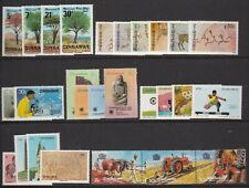 ZIMBABWE 1980s COMMEMORATIVE COLLECTION 28 STAMPS NEVER HINGED MINT