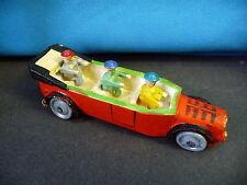 Altes Miniatur-Auto Spielzeugauto mit Insassen Holz Erzgebirge Seiffen?
