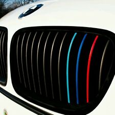 Pegatina Adhesivo Tiras Riñones Bmw 3 colores 5mm x 205mm