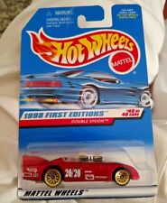 Hot Wheels 1998 First Editions Double Vision Metallic Red Paint