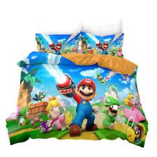 Super Mario World Bed Cover Kids Doona Quilt Bedding Set 200 x 140 Wii U 3DS