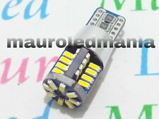 24V Luce posizione Led T10 W5W  40 SMD 4014 1X Canbus 2,4 W 280 Lumen 6000K PV
