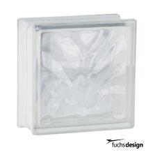 Fuchs Glasbausteine Glassteine Wolke klar 19x19x8cm