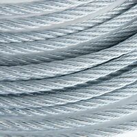 """1//4/"""" Stainless Steel Aircraft Cable Wire Rope 7x19 Type 304 400 Feet"""