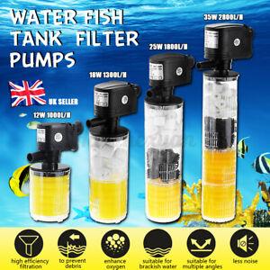 Submersible Aquarium Internal Pump and Filter for Fish Tank   A