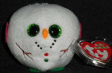 TY CHILLY the SNOWMAN BABY BEANIES - MINT with MINT TAGS