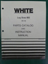 1979 WHITE LOG BOSS 800 SPLITTER 990 - 182 PARTS MANUAL