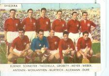 Figurina Calciatori Saim 1962-63 Svizzera Squadra! Nuova!!