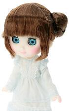 Petworks Sekiguchi Odeco Chan doll Teddy Bear Buns Wig Dark Brown