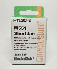 MASTERCLUB MTL-35215 METAL TRACKS FOR M551 SHERIDAN 1/35 NEW