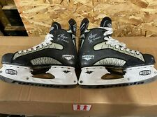 Mission Amp Flyweight Ice Hockey Skates Size 10D. 8.7 Stiffness Thermal Fit