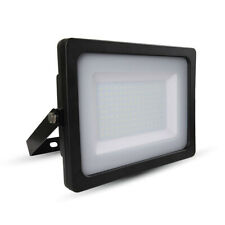 LED Floodlight 200 W SMD IP65 LED Natural White 4000K Black Body A+