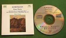 Schumann Piano Works Denes Varjon CD