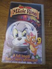 Tom and Jerry The Magic Ring  VHS Video Tape  (NEW)